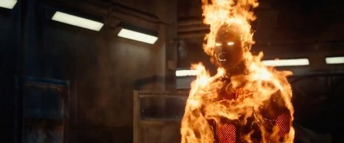 Fantastic Four (2015) Movie Review | CineFiles Movie Reviews |Fantastic Four 2015 Human Torch