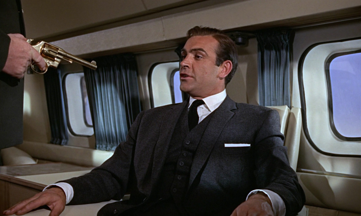 Goldfinger 1964 Movie Review Cinefiles Movie Reviews