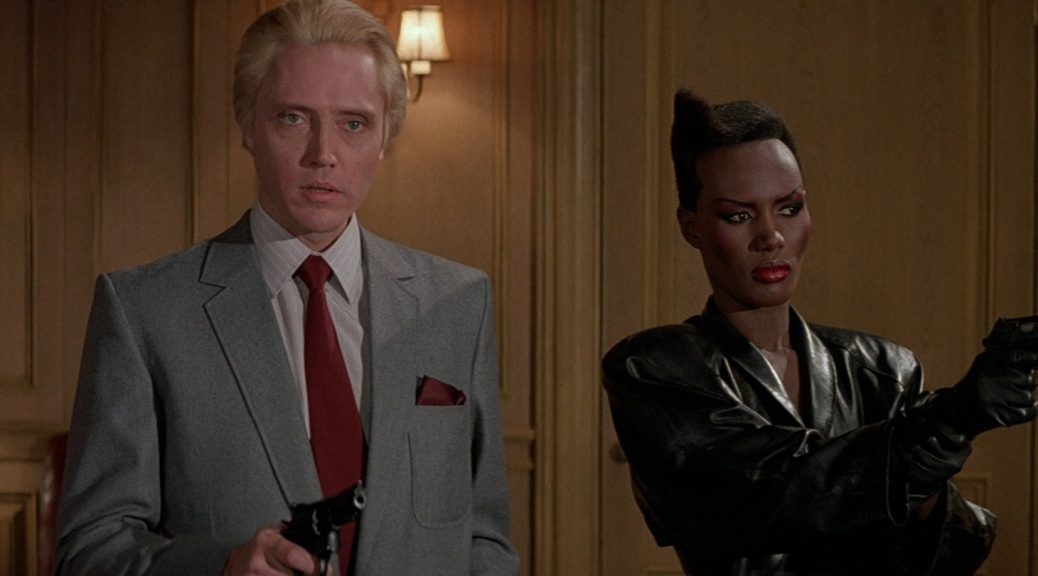 a-view-to-a-kill-christopher-walken-grace-jones-mayday-max-zorin-james-bond-007-roger-moore-spy-mi6-spectre-movie-review-1985