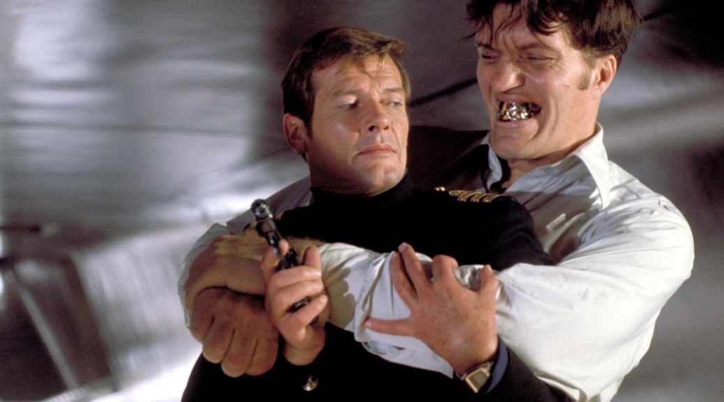 the-spy-who-loved-me-james-bond-roger-moore-richard-kiel-jaws-007-barbara-bach-triple-x-movie-review-1977-SPECTRE-2015