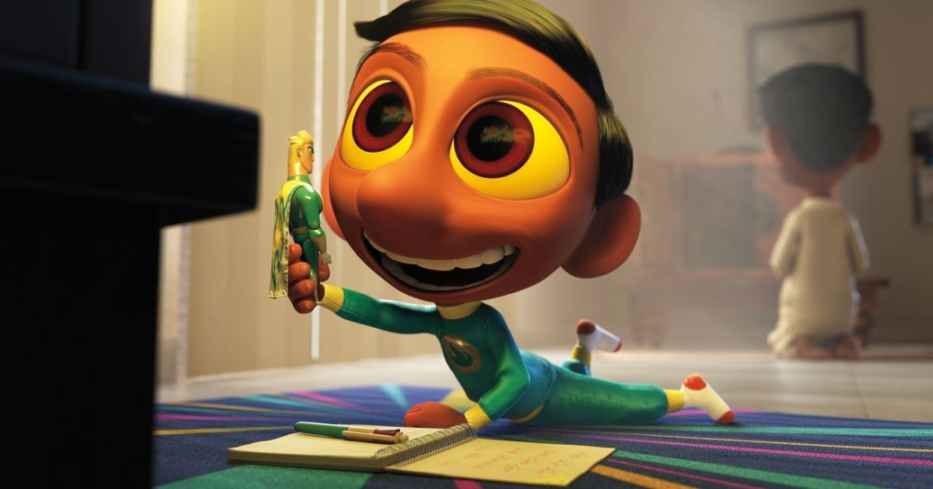sanjay's-super-team-oscar-nominated-animated-short-film-pixar-studios-movie-review