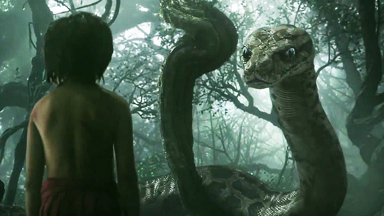 Jungle book trailer 2016 3d movie
