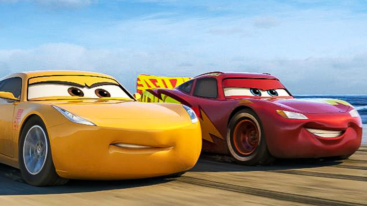 cars 3 2017 movie review cinefiles movie reviews. Black Bedroom Furniture Sets. Home Design Ideas