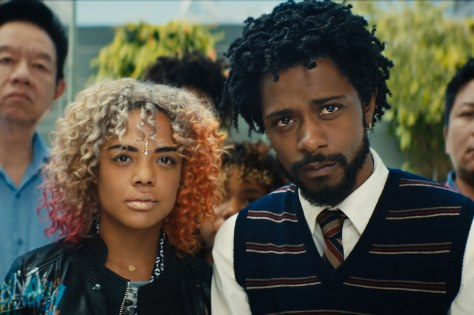 2018-boots-riley-movie-review-sorry-to-bother-you-tessa-thompson-lakeith-stanfield
