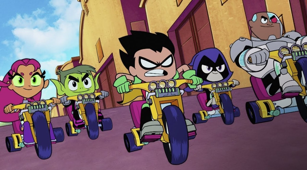 Teen Titans Go To The Movies 2018 Movie Review -8769