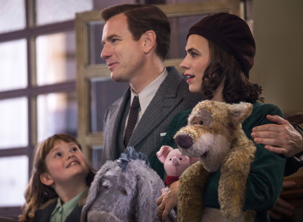 ewen-mcgregor-hayley-atwell-disney-2018-christopher-robin-movie-review