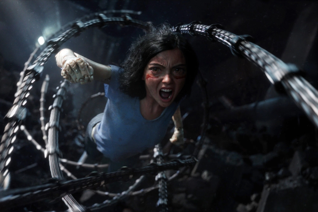 alita-battle-angel-adaptation-2019-movie-review-rosa-salazar-robert-rodriguez